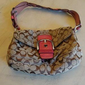 Womens Coach Shoulder Bag